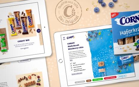 'Lass es Dir snacken': Wendweb relauncht Markenwebsite von Corny (Quelle: Wendweb)